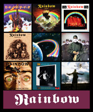 "RAINBOW album discography magnet (4.5"" x 3.5"") ritchie blackmore dio deep purple"