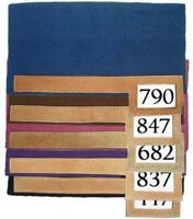 100% Wool Trophy Show Horse Saddle Blanket Pad with Number Slot