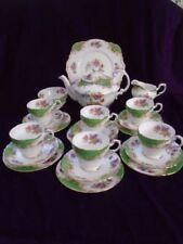 Tableware Green Vintage Original Paragon Porcelain & China