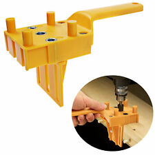 Handheld Woodwork Doweling Jig Drill Locator Guide Wood Dowel Drilling Hole