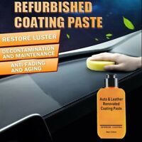 New Automotive Interior Auto & Leather Renovated Coating Paste Maintenance Agent