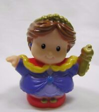 Fisher Price Little People CASTLE QUEEN for ROYAL KINGDOM CASTLE Lady w/ sceptor