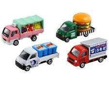 TOMICA TOMY 4 Model Box Set Town Ace Double Burger Fruit Shop Fishmonger Track