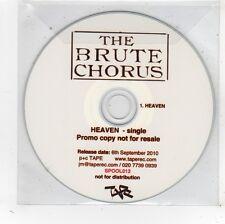 (FV708) The Brute Chorus, Heaven - 2010 DJ CD