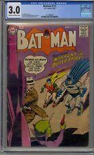 BATMAN #117 CGC 3.0