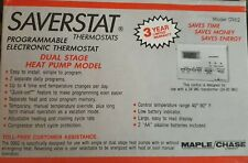Maple Chase Saverstat Thermostats - Programmable Electronic Thermostat Model.