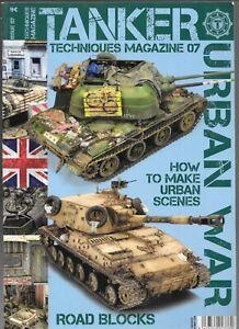 Techniques Magazine TANKER No. 07, How to Make URBAN SCENES Edition  AKI T-7 FN