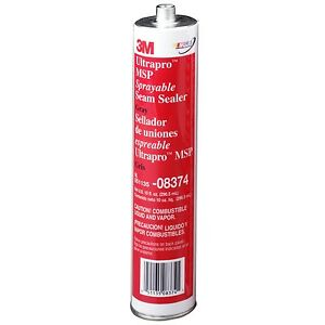 3M 08374 MSP Sprayable Seam Sealer Gray (10 OZ) 8374