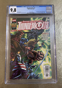 Thunderbolts #1 CGC 9.8 Falcon And Winter Soldier TV Show!🔥