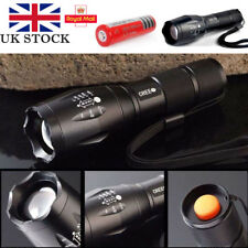 2200Lm CREE XML T6 LED Focus Torch Flashlight Rechargeable 18650 Light+battery