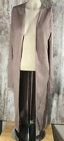 Allison Joy Evereve Womens Duster Cardigan Sweater Size M Dusty Pink