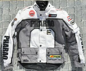 NIKRVE Motorradjacke Herren Moto Jacke Retro Vintage Milit/är Motorrad Motorrad Jacken Herbst Winter Biker Winddichte Reitjacke