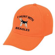 Cap Hat Flame Orange Beagle Hunter Hunt Hunting Rabbit Dog Hound