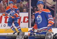 10-11 Upper Deck Kurtis Foster /100 UD Exclusives Oilers 2010