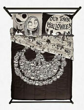 Disney The Nightmare Before Christmas Jack & Sally Our Town Pillowcase Set