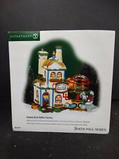 Department 56 Lighted ~ North Pole ~ Twinkle Brite Glitter Factory ~ 56738