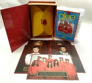 Glee DVD 20 Discs Box Set - YEARBOOK EDITION Complete Season 1 - 3 & Cards R4
