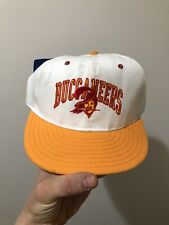 DEADSTOCK NWT Vintage Tampa Bay Buccaneers Annco Snapback Hat Cap NFL USA Made