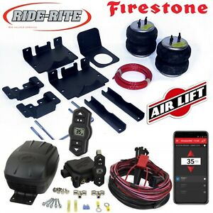 Firestone Ride Rite Bags AirLift Air Comp for 01-10 Silverado Sierra 2500HD 3500