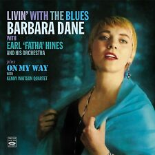 Barbara Dane: Livin' With The Blues + On My Way (2 Lps On 1 Cd)