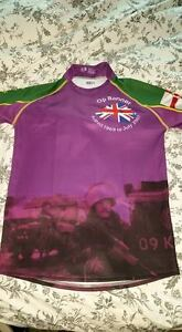 Op Banner Rugby shirt, Veterans Charity, Northern Ireland, Operation, N.Ire