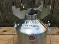 Ghillie Kettle Pot Support - Pan Stand Bushcraft Survival Camping Stove Cooker
