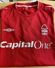 Nottingham Forest Shirt - Home - Umbro - Good Condition