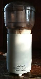 Mini Food Processor Model 14131 Sunbeam OSKAR JR Chopper Plus