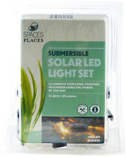 Beckett Pond Solar Led Lights with 2 Light Heads