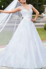 Plus Size Lace Ball Gown Dresses for Women