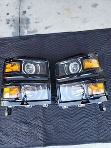 2014 2015 Chevrolet Silverado 1500 OEM Headlights