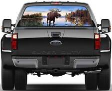 Moose Ver 1  Rear Window Graphic Decal Truck SUV Van Car