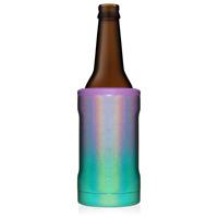 New Brumate Hopsulator Bott'l Bottle Cooler 12 oz Drink Holder Glitter Mermaid