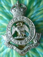 Royal Bucks Hussars Yeomanry Cap Badge KC All WM Slider Maker FIRMIN ANTIQUE