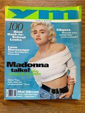MADONNA YM MAGAZINE August 1990 Madonna Talks Sex Mel Gibson Kiefer Sutherland