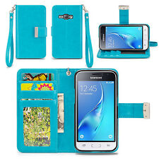 Izengate Id Wallet Pu Leather Flip Case Cover Folio for Samsung Galaxy Luna