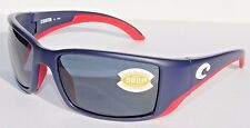 COSTA DEL MAR Blackfin 580P POLARIZED Sunglasses USA Blue/Gray LIMITED EDITION