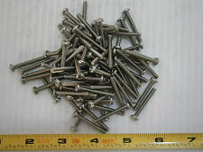 Machine Screw 6-32 x 1 1/8 Phillips Pan head Stainless Steel lot of 125 #1823