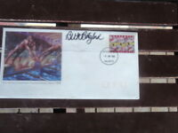 1998 SWIMMING OFFICIAL PERTH COVER MT CLAREMONT SIGNED GOLD MEDAL BETH BOTSFORD