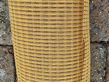Large piece vintage TYGAN speaker grill cloth, honey, ideal TANNOY GOODMANS