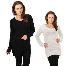 Langarm Damen-Pullover & -Strickware aus Acryl ohne Muster