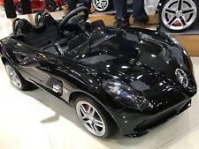Voiture électrique pour bébé - Mercedes SLR 12V - Noir Métal