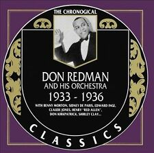 1933-1936 by Don Redman & His Orchestra-CLASSICS CD NEW