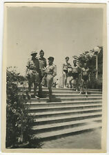 PHOTO ANCIENNE - MILITAIRE PÉRIODE INDOCHINE GAY DRÔLE-MILITARY-Vintage Snapshot