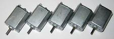 5 X Nichibo PC-130 Motors - 12V DC – 4800 RPM - PC-130SF-09480