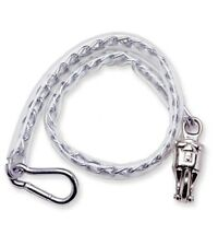 """Horse Trailer Tie PVC Butt Chain Stall Guard Quick Release Panic Snap 36"""""""
