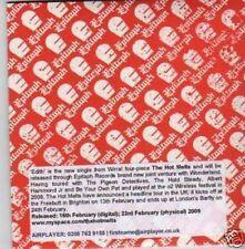 (659I) The Hot Melts, Edith - DJ CD
