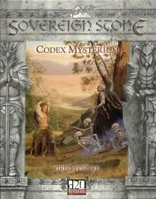 d20   sovereign stone codex mysterium         book   dungeons & dragons