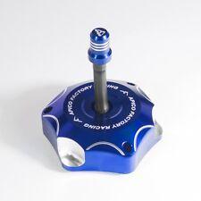 New Apico Alloy Fuel Cap Yamaha YZ 85 125 250 02-16 YZF 250 450 03-13 Blue