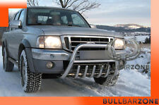 FORD RANGER I 1998-2006 TUBO PROTEZIONE MEDIUM BULL BAR INOX STAINLESS STEEL!